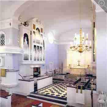 St Peter's Church Organ Side View