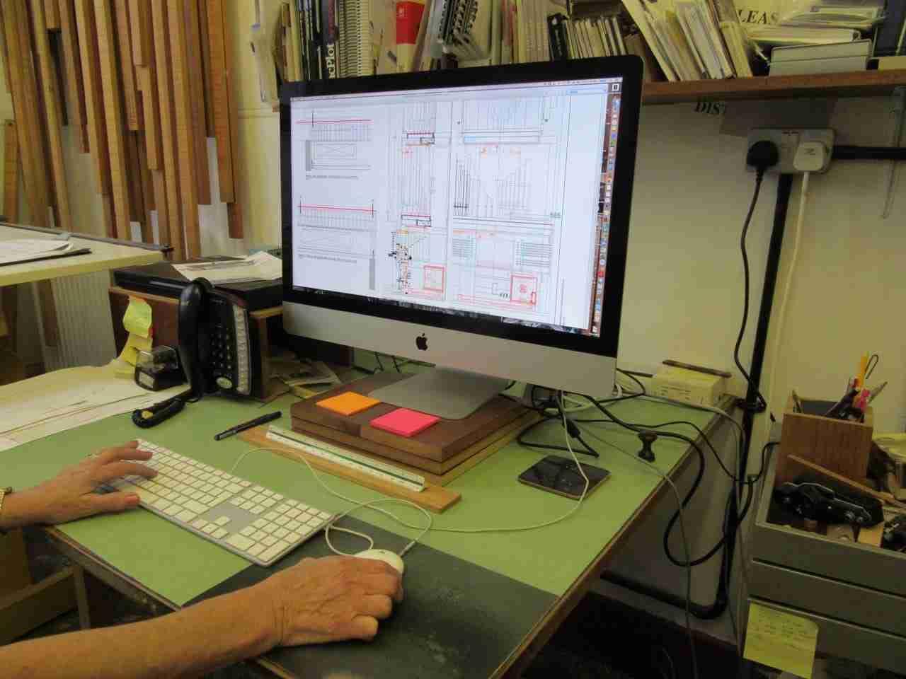 CAD Office Mander Organs