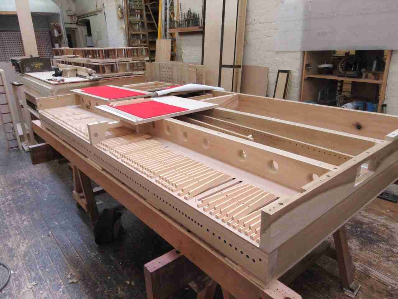 Woodwork - Mander Organs