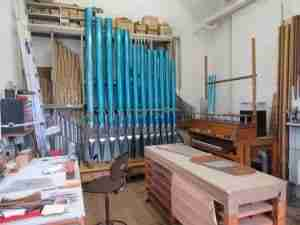 Mander Organs Voicing Shop