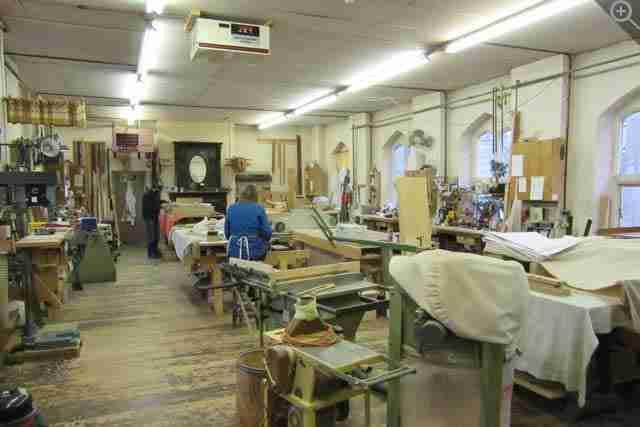 Mander Organs Small Upstairs Workshop