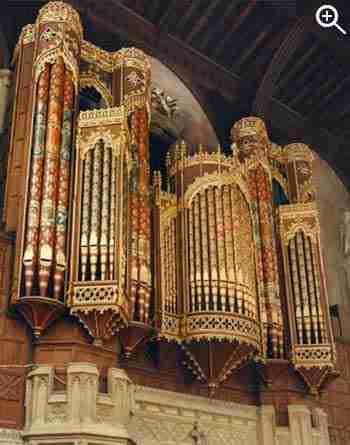 Eton College Organ