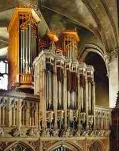 Magdalen College Organ