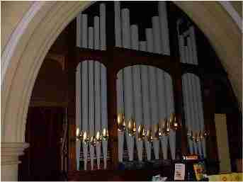 Peartree Church Organ