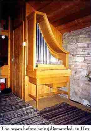 Peter Davies Organ - old location