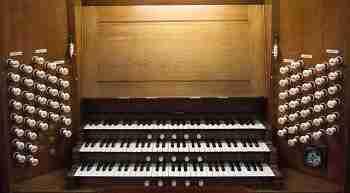 Console - Walker Organ Sacred Heart Wimbledon