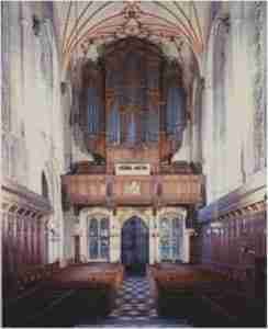Winchester College Organ