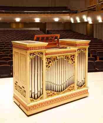 Australian Brandenburg Orchestra's Organ