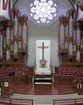 Peachtree Chancel Organ