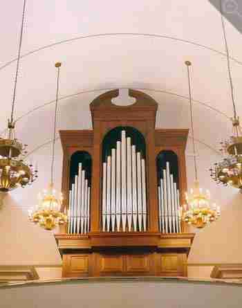 At Agnes Church Organ