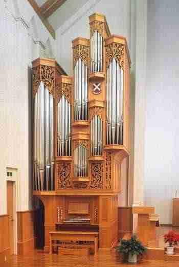 Organ - St Andrew's University Osaka