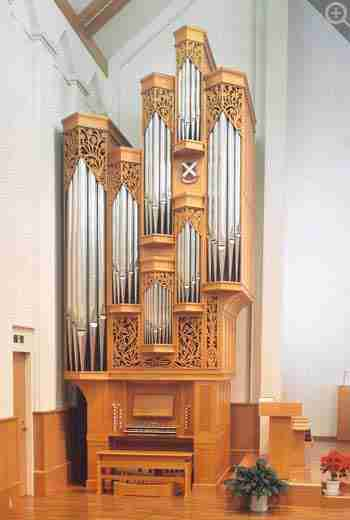 St Andrew's University Organ