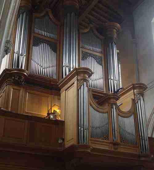The Organ St Giles Cripplegate