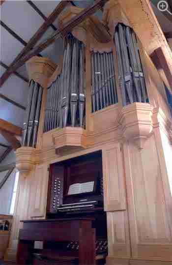 West Parish of Barnstable Church Organ