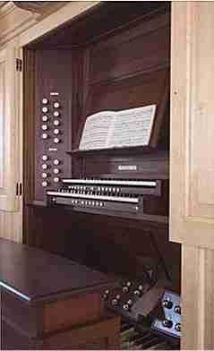 Cape Cod Organ Console