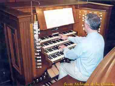 Peachtree Road Organ Console