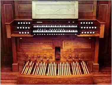 Christ Church Pittsford Console