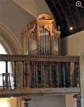 Rycote Chapel Organ