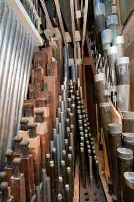 Pipes St George's Organ Southall