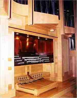 Urakami Cathedral Organ Console