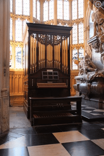 The Queen's Organ Westminster Abbey