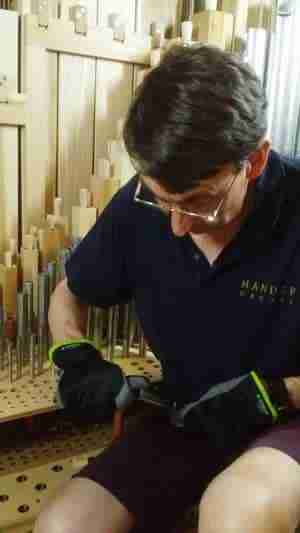 Cutting Organ Pipes To Length