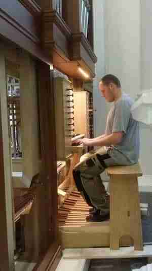 Tuning & Regulating an organ