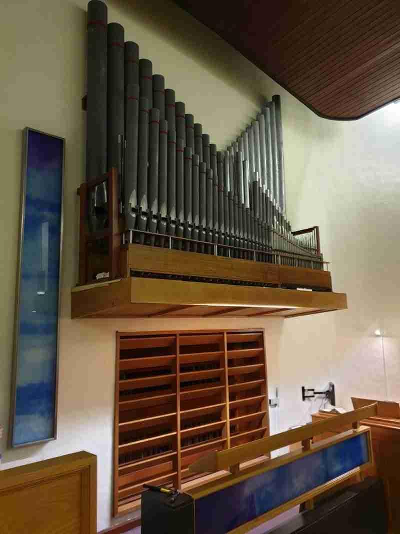 Coychurch Crematorium Organ